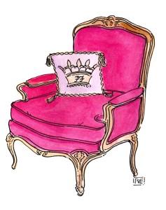 Pink Papier Furniture