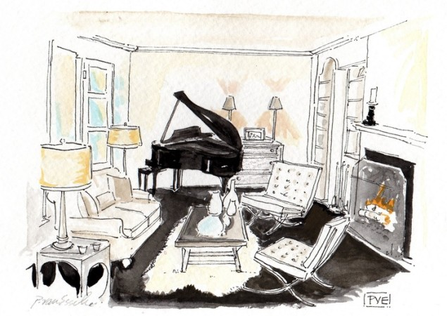 jazzy living room