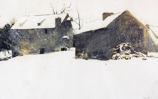 Andrew Wyeth Snow
