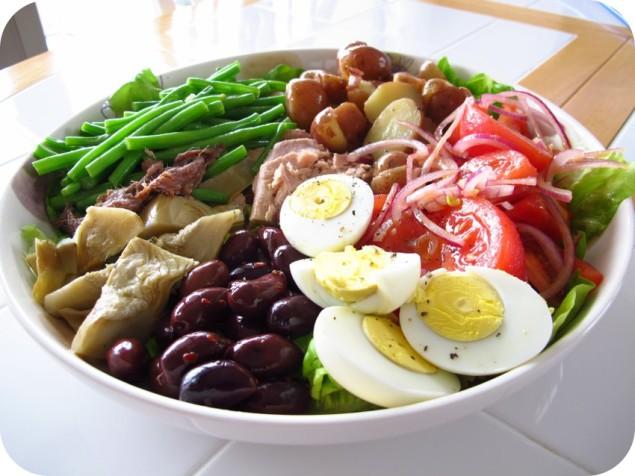beFOODled_food blog_salad nicoise