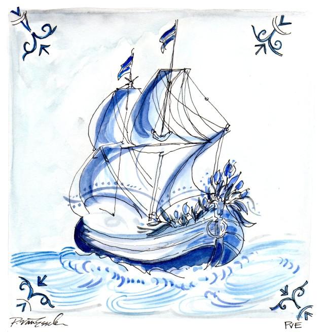 PvE-J:McL-blue delft988